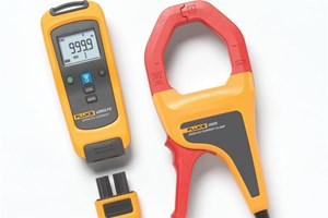 The Fluke a3003 FC Wireless DC current clamp meter